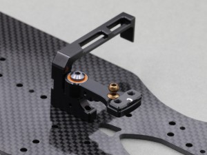 Destiny - RX-10SR 2.0 Single Bellcrank / Floating Servo Mount Set (O10276)