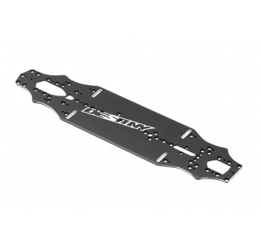 Destiny - RX-10SR Aluminum Main Chassis, Solid Version (7075-T6) (O10203)