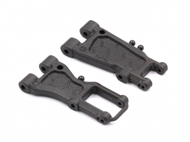 Destiny - Front 52/30.5mm Rear 55/40.5mm Suspension Arm Set, Type D, Graphite (O10233)