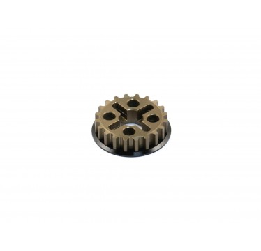 Destiny - RX-10S Alfa coat Aluminum Center Pulley (20T) (O10154)