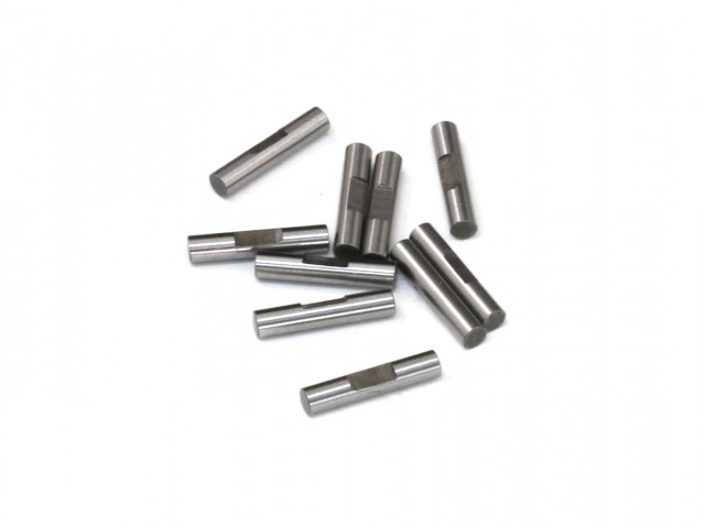 Destiny - 2x10mm Shaft Pin with Lock Slot, 10 pcs (D10083)