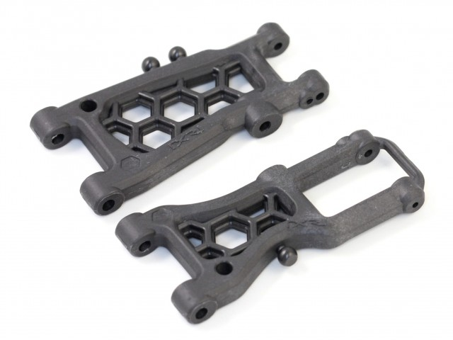 Destiny - Front & Rear Suspension Arm Set (Graphite) (O10031)