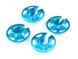 Radtec - Aluminum Spring Retainers, 4 pcs, Blue (TA-10001)