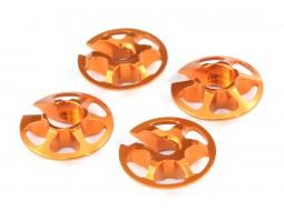 Radtec - Aluminum Lightweight Spring Retainers, 4 pcs (XR-10003)