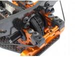 Radtec - T4-14 Aluminum F/R Roll Bar Center Holder, 2 pcs (XR-10009)