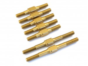 Radtec - Hard Coated Aluminum Turnbuckle Set for T4, 7 pcs (XR-10011)