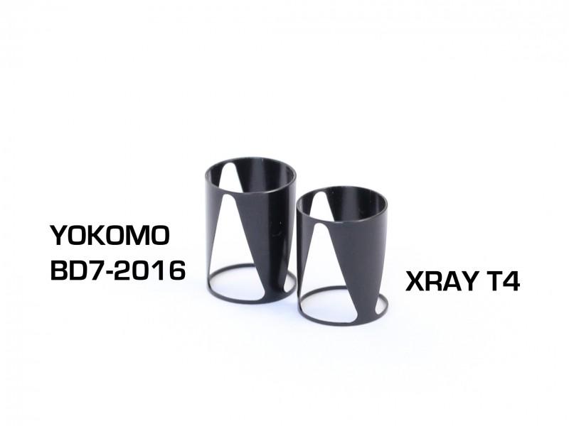 Radtec - Xray T4 Progressive Shock System Set (XR-10029)