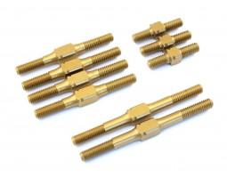 Radtec - Hard Coated Aluminum Turnbuckle Set for BD7, 9 pcs (YK-10008)
