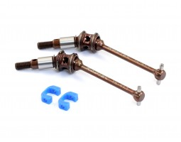 "Radtec - BD8 41.1mm ""PREMIUM"" Steel Double Joint Drive Shaft Set, Front (YK-10019)"