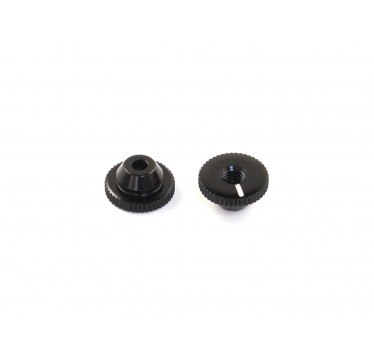 Radtec - Aluminum Side Spring Retainer for Xray Side Spring, Black, 2 pcs (PC-10005)