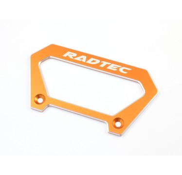 Radtec - Aluminum Large Handle for Futaba 4PX, Orange (RA-10001)