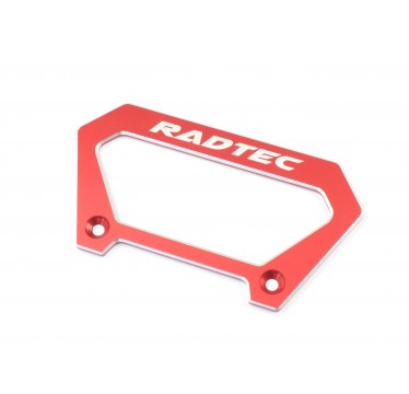 Radtec - Aluminum Large Handle for Futaba 4PX, Red (RA-10002)