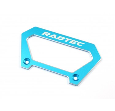 Radtec - Aluminum Large Handle for Futaba 4PX, Light Blue (RA-10003)