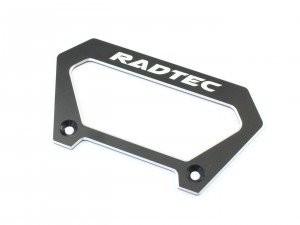 Radtec - Aluminum Large Handle for Futaba 4PX, Black (RA-10004)