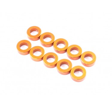 Radtec - 3x5.5x0.5mm Aluminum Spacer, 10 pcs, Orange (AC-10001)