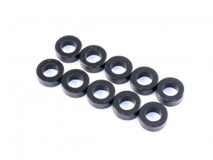 Radtec - 3x5.5x0.5mm Aluminum Spacer, 10 pcs, Black (AC-10005)