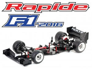 Roche - Rapide F1-2016 1/10 Competition F1 '2016 Car Kit (152004)