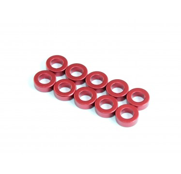 Roche - Aluminum Spacer 3x5.5x2mm, Red (510024)