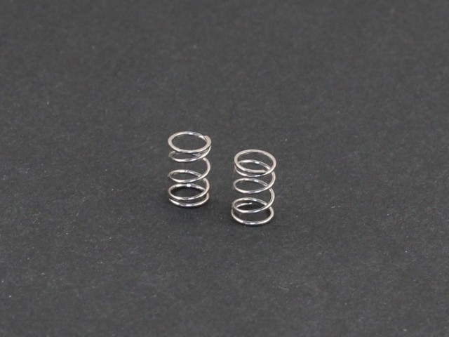 Roche - Front Springs (Soft), Silver (330163)