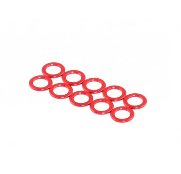 Roche - Aluminum King Pin Spacer, Red, M3.2x5x1.5 (510045)