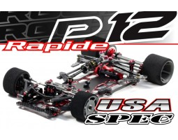 Roche - Rapide P12-2017 US Spec 1/12 Competition Car Kit (151008)