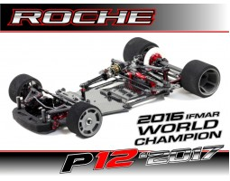 Roche - Rapide P12-2017 1/12 Competition Car Kit (151006)