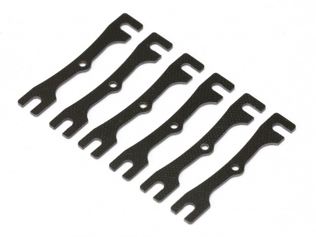 Roche - 1.0mm Height Adjust Plate, 6 pcs (320064)