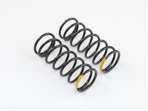 Roche - Rapide Center Damper Spring (Med. Hard), 1.1mm x 7.25coils (Yellow) (330011)