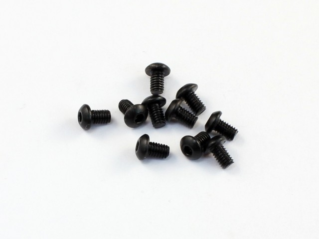 Roche - M2.5x4mm Roundhead Screw, 10 pcs (530011)