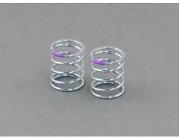 Roche - Shock Spring (SMJ / Progressive) 1.4x13.8x20mm 5.375 Coils, T2.5-3.0 (Purple) (330111)
