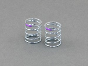 Roche - Shock Spring (SMJ / Progressive) 1.4x13.8x20mm 5.375 Coils, T2.5-3.0 (Purple) (330111)