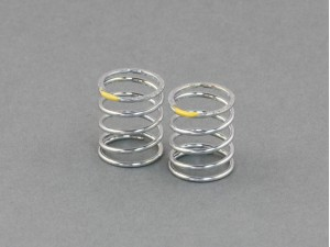 Roche - Shock Spring (SMJ / Progressive) 1.4x14.2x20mm 5.375 Coils, T2.5-2.7 (Yellow) (330109)
