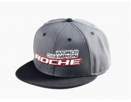 Roche - World Champion Commemorate Hat, Flat Bill, Gray/Black (920003)