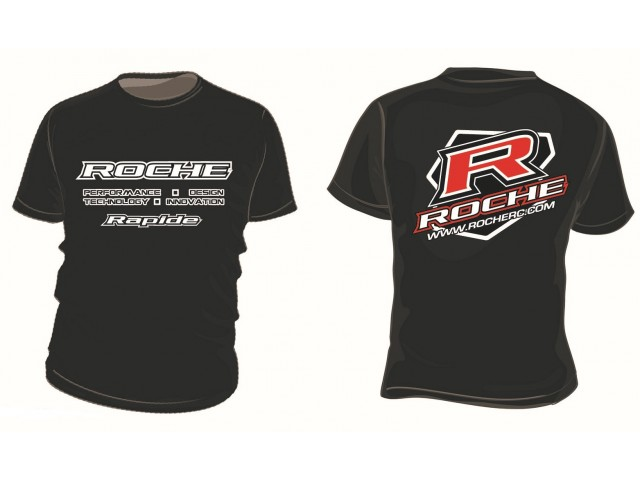 Roche - 2016 Team T-Shirt, Black (910001)