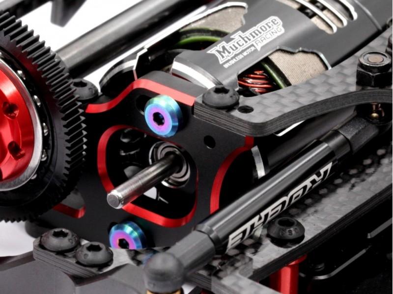 Roche - M3x8mm Ti Motor Screw, Rainbow Color, 2 pcs (550062)