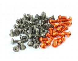 Roche - Titanium and Aluminum Screw Set for Xray T4-2014, 86 pcs (TS-CB8)