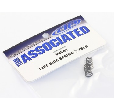 Team Associated - Side Spring 3.75LB, Black (AS-4641)