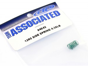 Team Associated - Side Spring 4.38LB, Green (AS-4642)