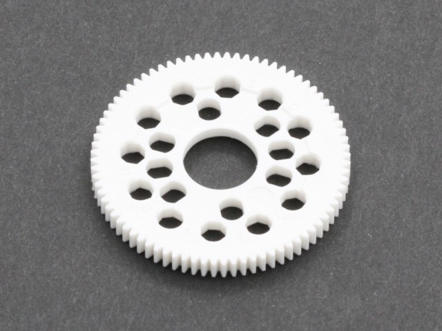 Xenon - 64 Pitch VVS EX Spur Gear for pancar & touring car, 80T (G64-3080)