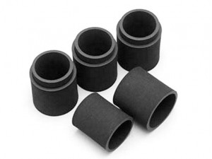 Yokomo - CRT S Rear Tire Rubber, 2 Layer, Pink,4 pcs (YOK-TR-4622WX)